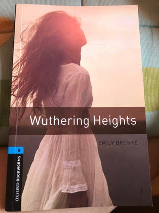 Libro lectura inglés: WUTHERING HEIGHTS