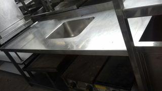 fregadero mesa