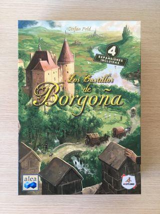Castillos de Borgoña + Extras, juego de mesa