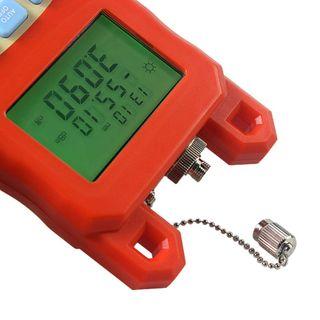 Medidor de fibra óptica medidor de potencia instru