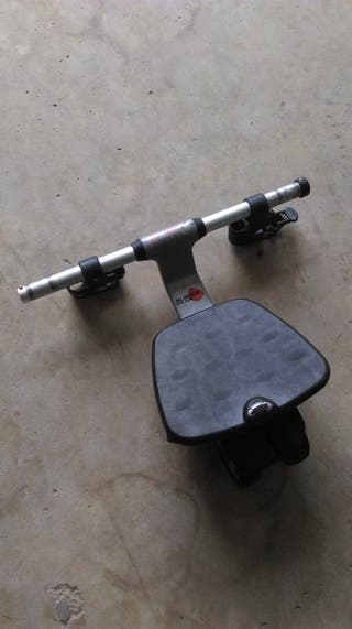Patin acoplable y protector lluvia carrito doble