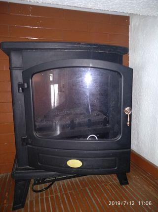 2946dc2c04f Chimenea eléctrica de segunda mano en la provincia de Madrid en WALLAPOP