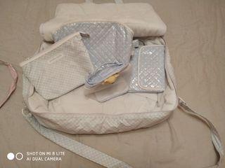 Juego maletas, neceseres y cambiadores para bebe