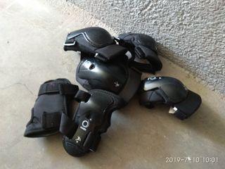 Protecciones y casco