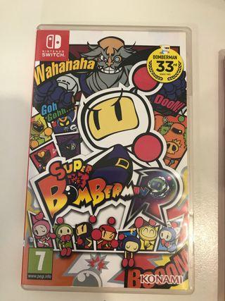 Juego Nintendo switch súper bomberman