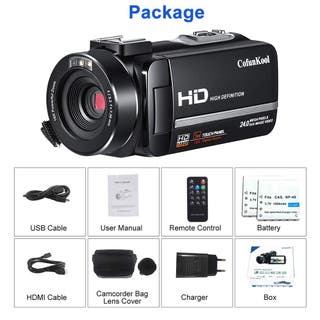 Videocámara Cámara de Video Digital Full HD 1080P