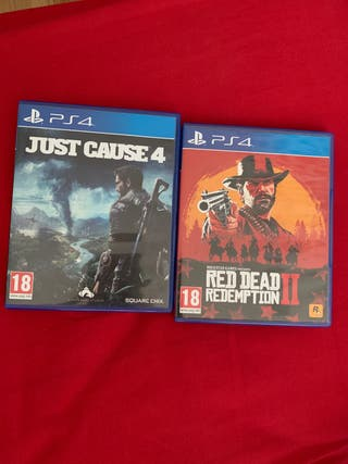 Just cause 4 & Red Dead Rdemption 2
