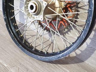 Rueda trasera KTM EXC