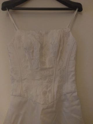 Vestido de novia vintage. Impecable.