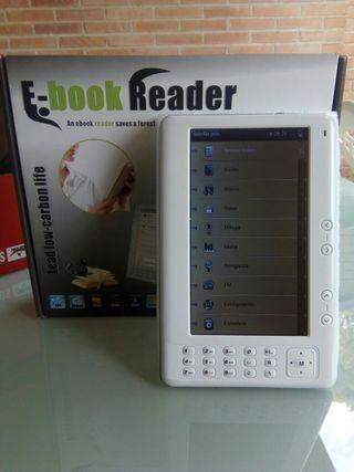 Ebook / Lector ebook/ Libro electrónico