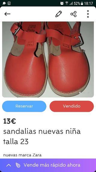 Sandalias Segunda Bebe De 3rjl4a5qsc Zara Mano En Wallapop f6v7gmYbyI