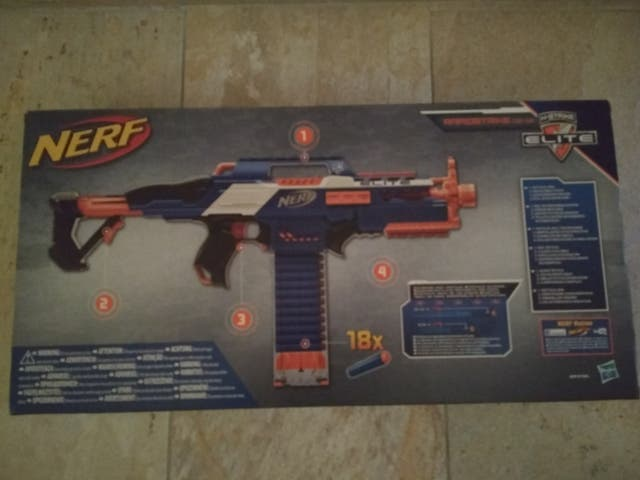 NERFT ELITE XD RAPIDSTRIKE CS-18