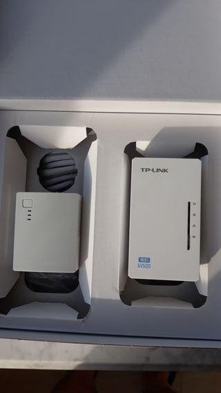 Repetidor wifi y PLC.TPLINK WIFI AV500