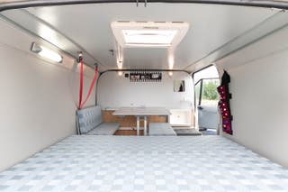 FURGONETA CAMPER Ford Transit TD 240S QVFA L1H1