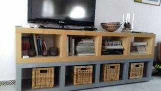Mueble tv/estanterías Ikea