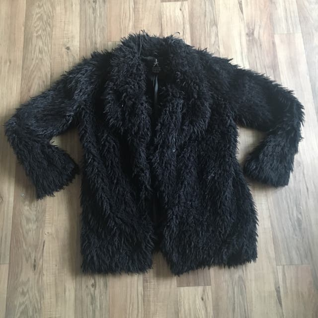 Fur coat size 12