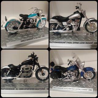 Motos miniatura Harley Davidson