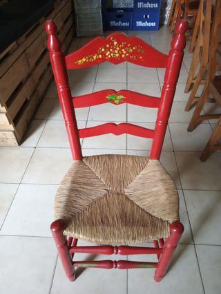 sillas flamencas