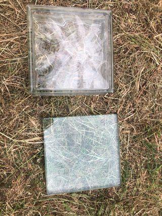 Pavés de cristal