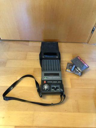 Grabador reproductor cintas casete