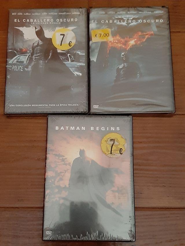 Dvd Trilogía Batman (Art. Nuevo y Precintado)
