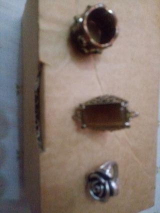 vendo 3 anillos vintage