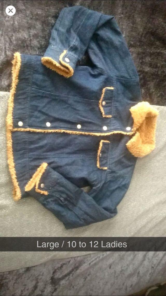 Size 12 ladies denim jacket