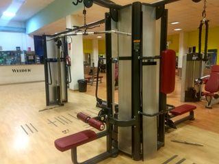 Lote máquinas de gimnasio