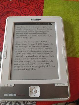 Ebook tinta electrónica Wolder
