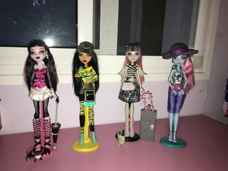 PACK MUÑECAS MONSTER HIGH