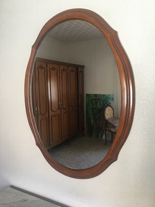 Espejo del tocador madera
