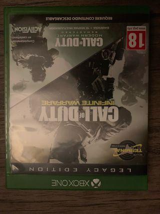 Call of Duty infinite warfare + Fifa 18 Xbox One