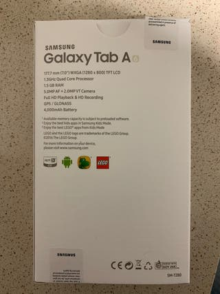 "TABLET SAMSUNG TAB A6 7"" 8GB"