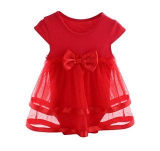 vestido tutú bebé nuevo 12 meses