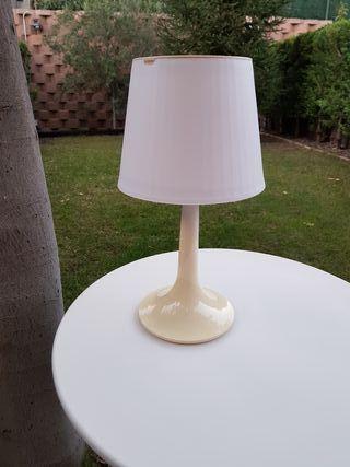 Lámpara mesa solar exterior Edición francesa