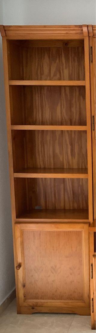 Estantería / mueble salón madera maciza