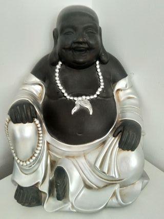 Figura de Buda gordo sonriente (37cm de alto)