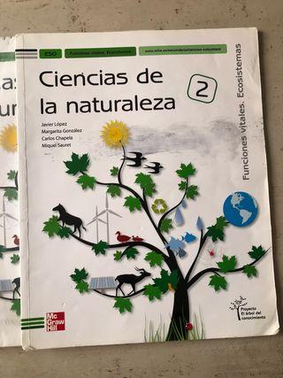 libro ciencias de la naturaleza 2 eso