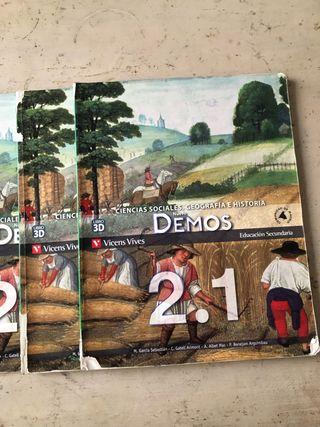 libro de ciencias sociales, geografía e historia 2