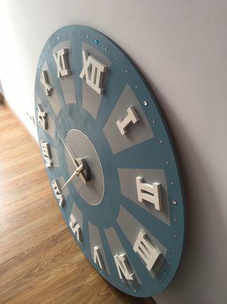Reloj pared extra grande 120cm diámetro