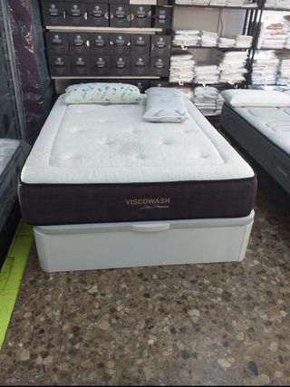 canapes/somieres/colchónes/bases tapizadas/cabezal