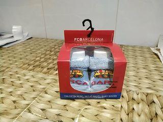 Calcetines bebé nuevos FC Barcelona