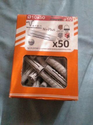 tacos de 10 mm nylon