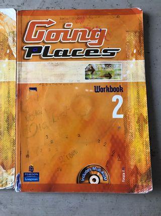 going places 2 de la eso, students book y workbook