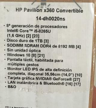 A estrenar!!Ordenador portátil HP convertible