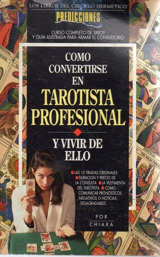 LIBRO COMO CONVERTIRSE EN TAROTISTA PROFESIONAL