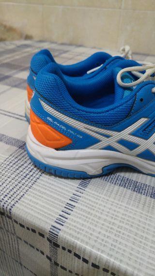 Zapatillas padel 40 asics gel padel