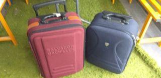 2 maletas para viajer