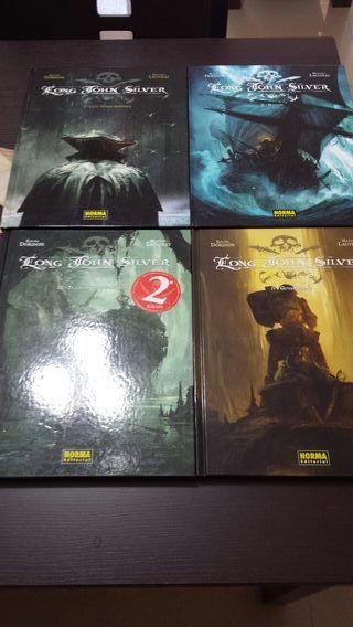Comic Long John Silver colección completa