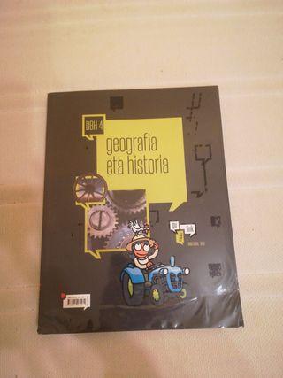 libro geografía e historia (EUSKERA) 4.ESO
